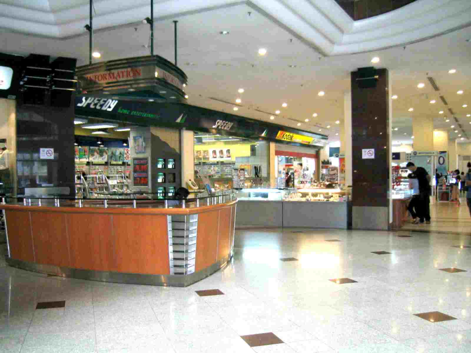 Shopping Podium Atrium